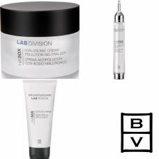 Kit cu acid hialuronic pentru exfolierea si hidratarea tenului - HA50X - Bruno Vassari - 3 produse cu 7% discount