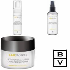 Kit regenerator cu probiotice pentru pielea sensibila - Lab Division - Probiotics - Bruno Vassari - 3 produse