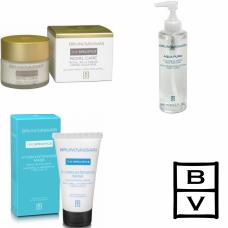 Kit pentru hidratarea intensa a tenului uscat si obosit - Normal And Combination Skin - Bruno Vassari - 3 produse cu 7% discount