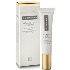Crema anti-rid nutritiva pentru conturul ochilor - Vitamin Eye Cream - Bruno Vassari - 15 ml