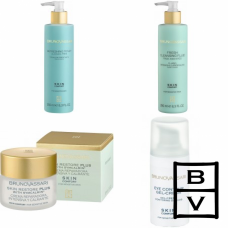 Kit hidratant si reparator pentru ingrijirea completa a tenului sensibil - Skin Comfort - Bruno Vassari - 4 produse