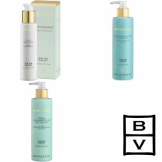 Kit reparator si hidratant pentru tenul cuperotic si sensibil - Skin Comfort - Bruno Vassari - 3 produse cu 7% discount