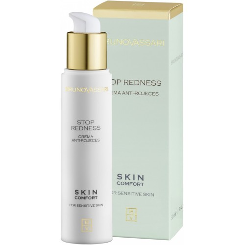 Crema Tratament Pentru Ten Sensibil Si Cuperotic - Stop Redness Cream - Bruno Vassari - 50 Ml