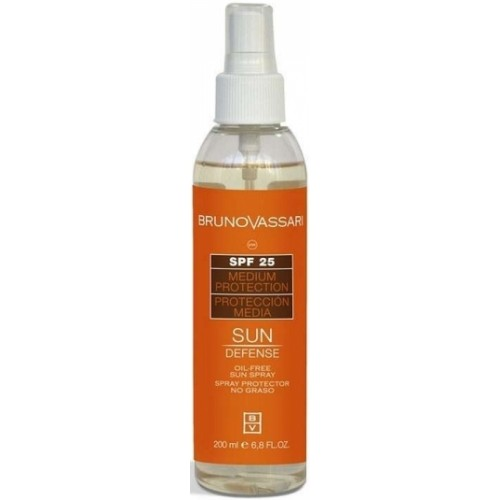 Spray Cu Protectie Solara Fara Ulei - Oil Free Sun Spray Spf 25 - Bruno Vassari - 200 Ml