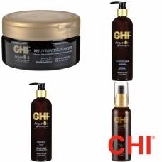 Kit intens hidratant - Argan - CHI - 4 produse cu 20% discount
