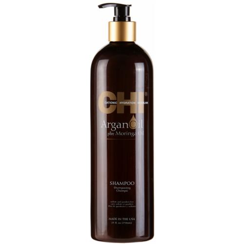 Sampon Hidratant Cu Ulei De Argan Pentru Par Deshidratat Si Degradat - Shampoo - Argan Oil - Chi - 739 Ml