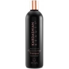 Sampon hidratant pentru parul uscat si deshidratat - Rejuvenating Shampoo - Black Seed Oil - Kardashian Beauty - 355 ml