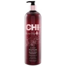 Sampon protector pentru par uscat si vopsit - Protecting Shampoo - Color Nurture - CHI - 739 ml