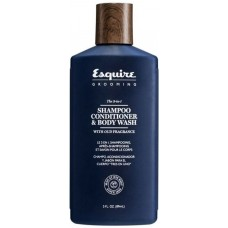 Gel 3 in 1 - Sampon, balsam si gel de dus pentru barbati - Shampoo, Conditioner & Body Wash - Esquire Grooming - CHI - 89 ml
