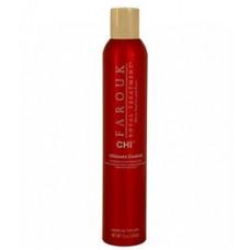 Spray pentru volum si indreptare cu trufe si perle - Farouk Ultimate Control Shaping Spray - CHI - 340 Gr