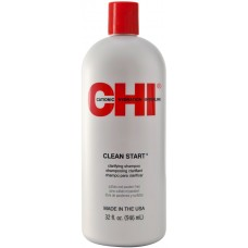 Sampon pentru o curatare profunda (cu cheratina, ceramica si vitamine) - Clean Start - CHI - 946 ml