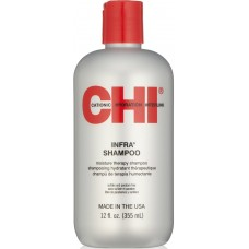 Sampon terapeutic hidratant pentru fixarea culorii - Moisture Therapy Shampoo - Infra Shampoo - CHI - 355 ml