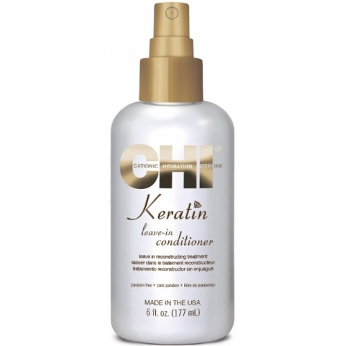 Tratament Reparator Cu Keratina - Keratin Leave-in Conditioner - Chi - 177 Ml