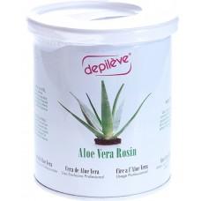 Ceara elastica cu aloe vera - Aloe Vera Rosin - Depileve - 800 gr