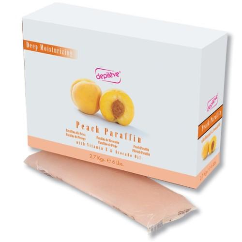 Parafina Cu Piersica - Peach Paraffin - Depileve - 2.7 Kg