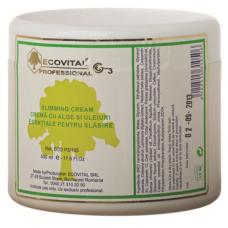 Crema cu alge si uleiuri esentiale pentru slabire - Slimming Cream - Ecovital - 500 ml