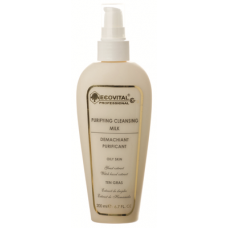 Lapte demachiant purificant pentru ten gras - Purifying Cleansing Milk - Ecovital - 200 ml