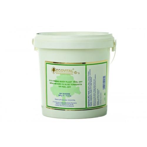 Impachetare Cu Alge Tonifianta - Eco Firming Body Plast Peel Off - Ecovital - 500 G