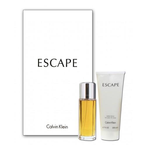 Set Apa De Parfum Lotiune De Corp Pentru Femei Escape Calvin