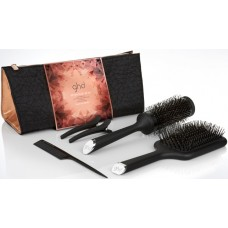 Set perii de par profesionale - Ultimate Brush Gift Set - Copper Luxe Collection - GHD