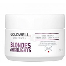 Tratament reparator intensiv in 60 secunde - 60SEC Treatment - Blondes & Highlights - Goldwell - 200 ml