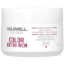 Tratament pentru sigilarea culorii in doar 60 secunde - 60SEC Treatment - Color Extra Rich - Goldwell - 200 ml