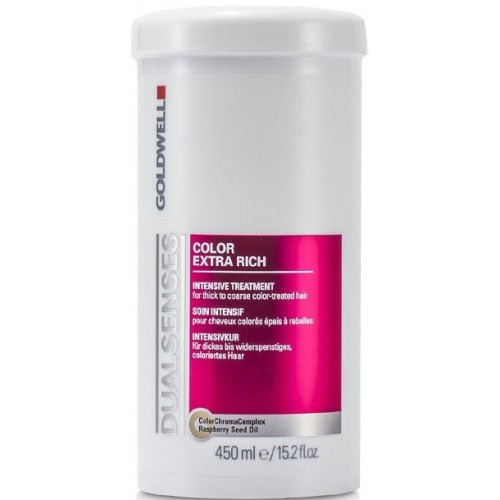 Tratament Intensiv Pentru Protejarea Culorii - Intensive Treatment - Color Extra Rich - Goldwell - 450 Ml