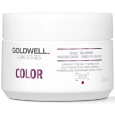 Tratament intensiv de ingrijire/mentinere a culorii - 60Sec Treatment - Color - DualSenses - Goldwell - 200 ml