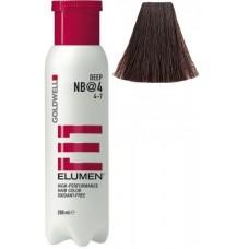 Vopsea de par profesionala neoxidativa - NB@4 - Elumen - Goldwell - 200 ml