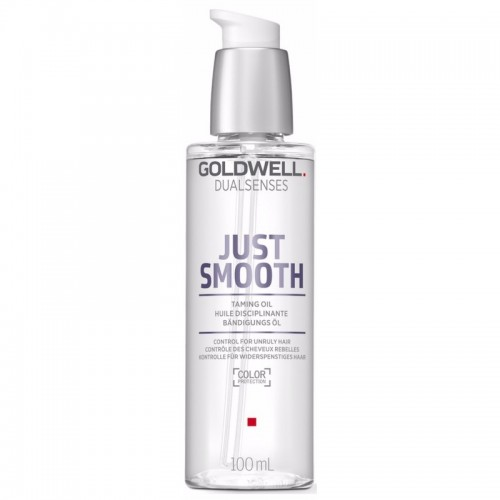 Ulei Pentru Par Indisciplinat Sau Cret - Taming Oil - Just Smooth - Dualsenses - Goldwell - 100 Ml