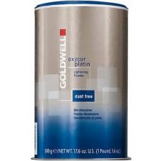 Pudra decoloranta albastra (deschidere de pana la 7 nivele) - Oxycur Platin - Goldwell - 500 g