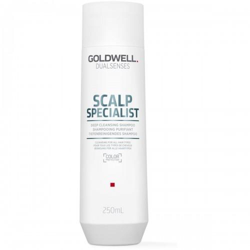 Sampon Pentru Curatare Profunda - Deep Cleansing Shampoo - Scalp Specialist - Dualsenses - Goldwell - 250 Ml