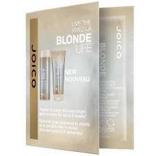 Sampon si balsam iluminator pentru parul blond - SH and COND - Duo Foil - 2x10 ml