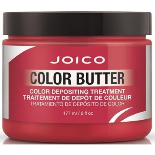 Tratament Nuantator Pentru Par - Color Depositing Treatment - Color Butter - Red - Joico - 177 Ml