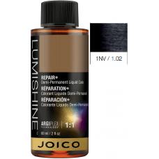 Vopsea lichida demi-permanenta profesionala - 1NV - Demi-Permanent Liquid Color - Lumishine - Joico - 60 ml