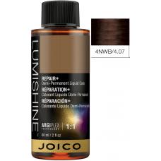 Vopsea lichida demi-permanenta profesionala - 4NWB- Demi-Permanent Liquid Color - Lumishine - Joico - 60 ml