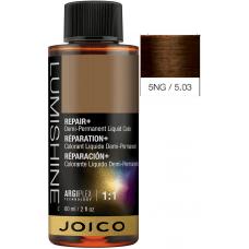 Vopsea lichida demi-permanenta profesionala - 5NG - Demi-Permanent Liquid Color - Lumishine - Joico - 60 ml JO