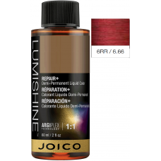 Vopsea lichida demi-permanenta profesionala - 6RR - Demi-Permanent Liquid Color - Lumishine - Joico - 60 ml