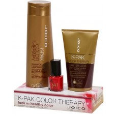Set Sampon + Luster Lock + Oja - K-Pak Color Therapy Shampoo+Luster Lock Caddy - Joico