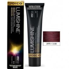 Vopsea de par profesionala pentru luciu intens - 3RR - Permanent Color Cream - Lumishine - Joico - 74 ml