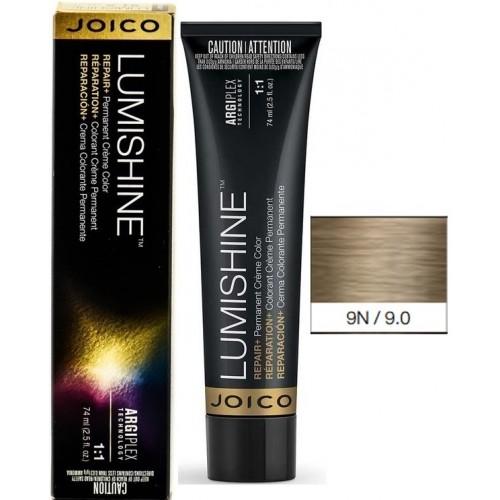 Vopsea De Par Profesionala Pentru Luciu Intens - 9n - Permanent Color Cream - Lumishine - Joico - 74 Ml