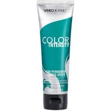 Vopsea crema semi-permanenta - Color Intensity - Semi-Permanent Peacock Green - Joico - 118 ml