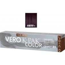 Vopsea profesionala anti-imbatranire - 4NRV+ - Permanent Creme Color - Age Defy - VERO K-PAK - Joico - 74 ml