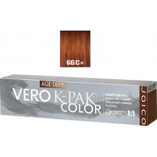 Vopsea profesionala anti-imbatranire - 6CG+ - Permanent Creme Color - Age Defy - VERO K-PAK - Joico - 74 ml