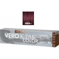 Vopsea profesionala anti-imbatranire - 6NR+ - Permanent Creme Color - Age Defy - VERO K-PAK - Joico - 74 ml