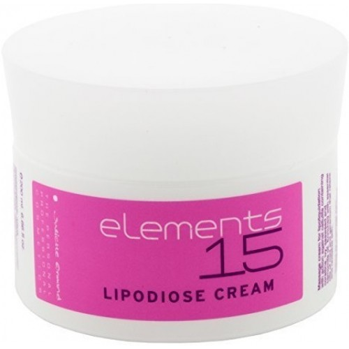 Crema Anticelulitica Pentru Masaj Cu Ulei De Musetel - Lipodiose Cream - Elements 15 - Juliette Armand - 200 Ml