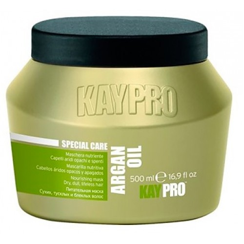 Masca Nutritiva Cu Ulei De Argan - Nourishing Mask With Argan Oil - Argan Oil - Kaypro - 500 Ml