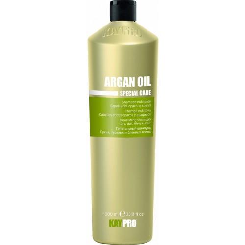 Sampon Hranitor Cu Ulei De Argan - Nourishing Shampoo With Argan Oil - Argan Oil - Kaypro - 1000 Ml