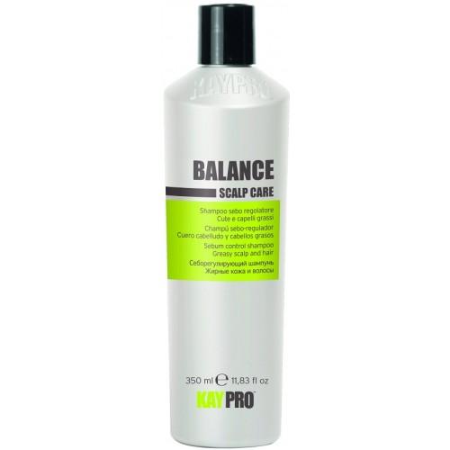 Sampon Pentru Parul Gras - Sebum Control Shampoo - Balance - Kaypro - 350 Ml