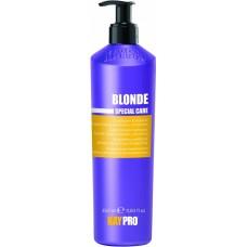 Balsam cu efect de stralucire (par blond) - Brightening Conditioner With Saphire - Blonde - KAYPRO - 350 ml